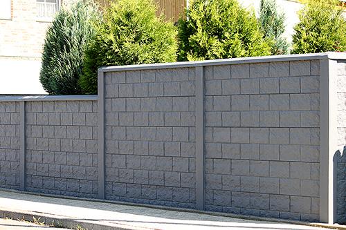 Zaun Aus Beton Best Senso Grande Pflaster With Zaun Aus Beton