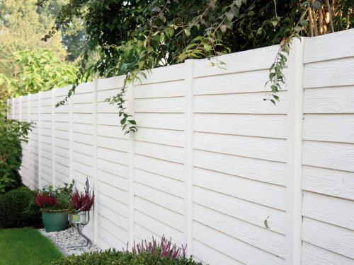 Garten Sichtschutz Holz Weiss – Bvrao.com